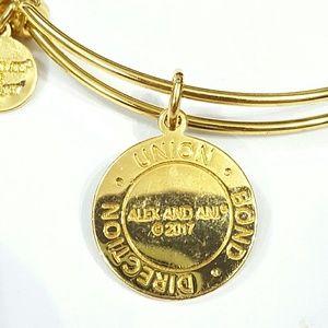 Alex and Ani Jewelry - Alex and Ani Arrows of Friendship Charm Bangle J24